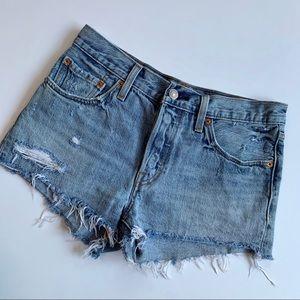 Levi's | Cut Off Jean Shorts sz 27